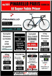 Pinarello nyheder 2011 &#8211; hos Fabin