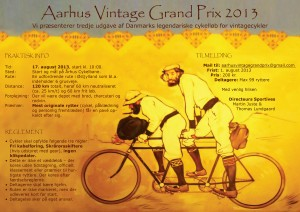Aarhus Vintage Grand Prix 2013
